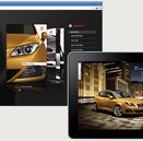 Brochures Seat interactief in het BlueBerry magazine platform